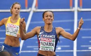 Solène Ndama va disputer ses premiers championnats du monde à Doha.