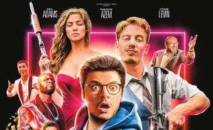 L'affiche du film «Gangsterdam» joue sur les clichés.