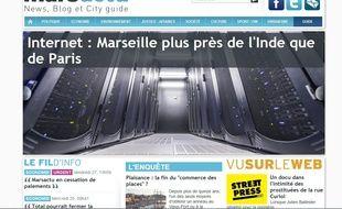 Le site de Marsactu.