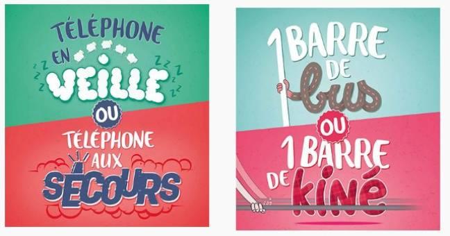Des affiches de la nouvelle campagne de la TAN