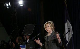 Hillary Clinton, favorite du camp démocrate dans la course à la Maison Blanche, à New York le 24 juillet 2015