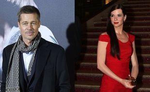 Brad Pitt et Sandra Bullock (montage)