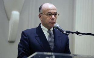 Le ministre de l'Intérieur Bernard Cazeneuve le 29 janvier 2015 à Paris