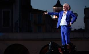 Patrick Sébastien, le 20 juin 2015, à Nice.