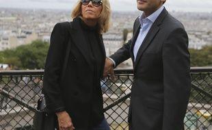 Brigitte et Emmanuel Macron, à Paris 2017.