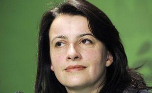 Cécile Duflot lors d'une conférence de presse le 30 janvier 2012.