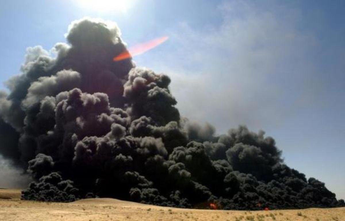 Une explosion survenue dans la nuit de dimanche à lundi sur un oléoduc, dans le sud-est de la Turquie, a interrompu la fourniture de pétrole en provenance d'Irak, faisant porter des soupçons de sabotage sur les rebelles kurdes, ont déclaré lundi des responsables turcs. – Maxim Marmur afp.com