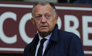 Le président de l'OL Jean-Michel Aulas.