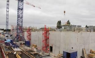 Les travaux, qui se déroulent sans interrompre le fonctionnement de l'usine, doivent durer jusqu'en 2020.