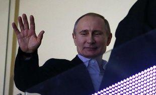 Le président russe, Vladimir Poutine, à Sotchi, le 15 février 2014.