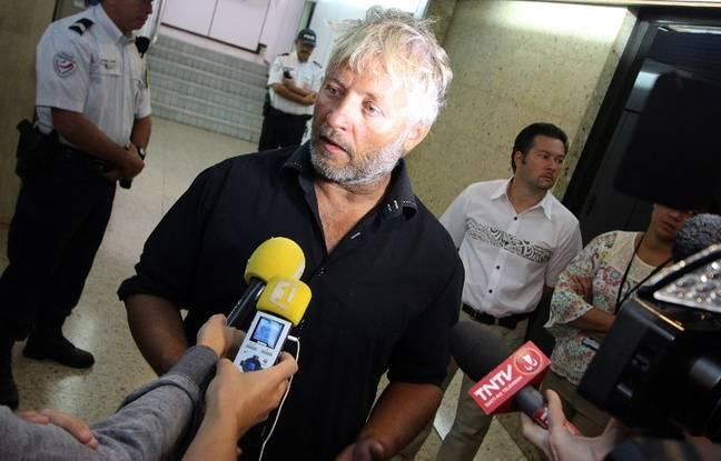 Yvan Bourgnon, le 26 juin 2015 à Thaïti.