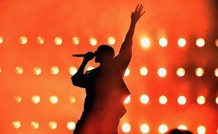 Kanye West à Las Vegas le 18 septembre 2015.