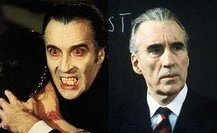 Christopher Lee  A interprété le conte Dracula dans plus d'une dizaine de films (1957-1976) Un métier du seigneur (1986)