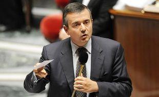 Yves Jégo, le 13 mai 2009, sur les bancs de l'Assemblée nationale.