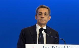 Nicolas Sarkozy à Paris le 6 décembre 2015.