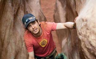 James Franco dans le film 127 heures.
