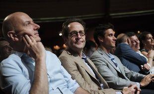 Gilles Le Gendre (au centre), député LREM.