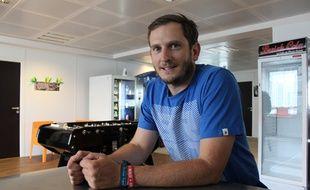 Bertier Luyt, fondateur du FabShop qui organise ce week-end, avec le Cent Quatre,  la première Maker Faire de Paris.