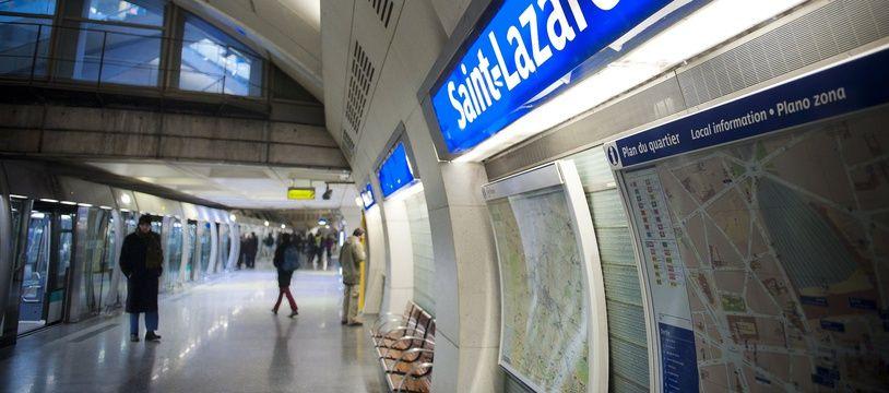 La ligne 14 du métro parisien. (Illustration)