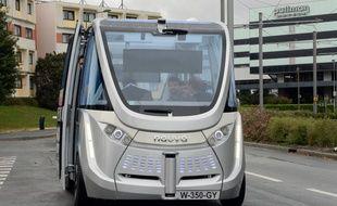 Une navette autonome en 2015