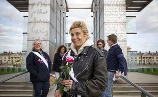 Frigide Barjot, le 22 avril 2013 à Paris.