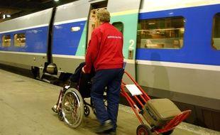 Emmanuelle avait souscrit à l'offre «Accès Plus» de la SNCF (illustration)
