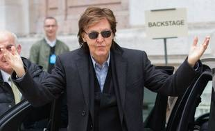 Paul McCartney à Paris le 9 mars 2015.