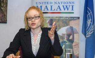 Ikponwosa Ero, experte de l'ONU, lors d'une conférence de presse à Lilongwe, au Malawi le 29 avril 2016