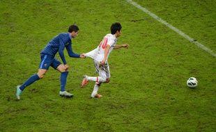 Maxime Gonalons, le 12 octobre 2012 face au Japon au Stade de France.