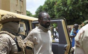 Le colonel Assimi Goïta, à Bamako le 24 août 2020 (illustration).