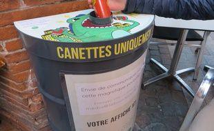 Le Canivor, le collecteur de canettes inventé par l'entreprise toulousaine
