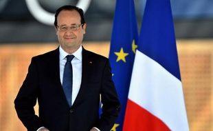 Le président François Hollande à Marseille le 4 juin 2013