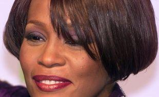La chanteuse américaine Whitney Houston aux MTV Europe Music Awards, à Dublin le 11 novembre 1999