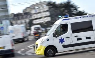 Illustration d'une ambulance, à Nante