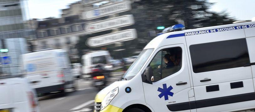 Illustration d'une ambulance