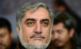 Le candidat à l'élection présidentielle Abdullah Abdullah, le 7 mars 2014