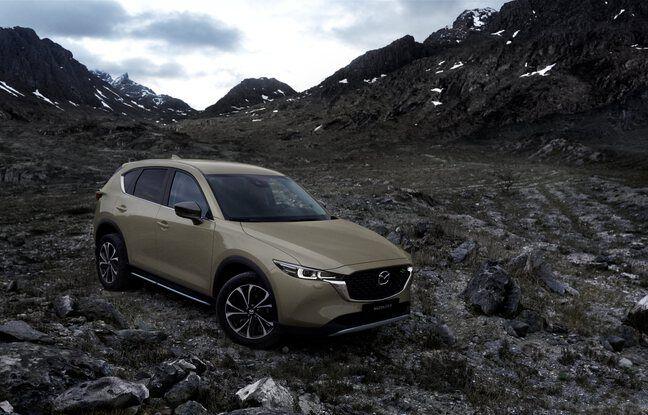 Mazda CX-5 2022, nouvelle teinte Zircon Sand