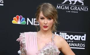 La chanteuse Taylor Swift aux Billboard Music Awards 2018