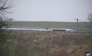 Le TGV Strasbourg-Paris a déraillé à hauteur d'Ingenheim un peu avant Saverne, ce jeudi 5 mars 2020.