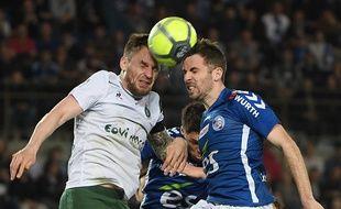 Mathieu Debuchy n'a surtout pas peur d'aller au combat avec l'AS Saint-Etienne.