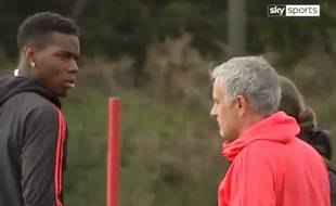 Pogba vs Mourinho, fight