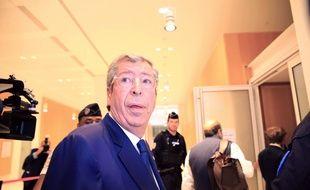 Patrick Balkany lors de son procès pour fraude fiscale, au mois de juin