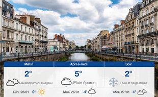 Météo Rennes: Prévisions du dimanche 24 janvier 2021