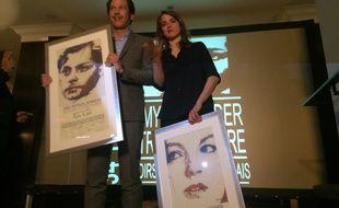 Reda Kateb et Adèle Haenel, lauréats des prix Patrick Dewaere et Romy Schneider