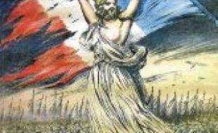 Une des affiches de la campagne de souscription de La Barbe.