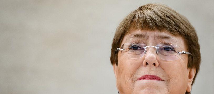 Michelle Bachelet, le 24 février 2020 à Genève.
