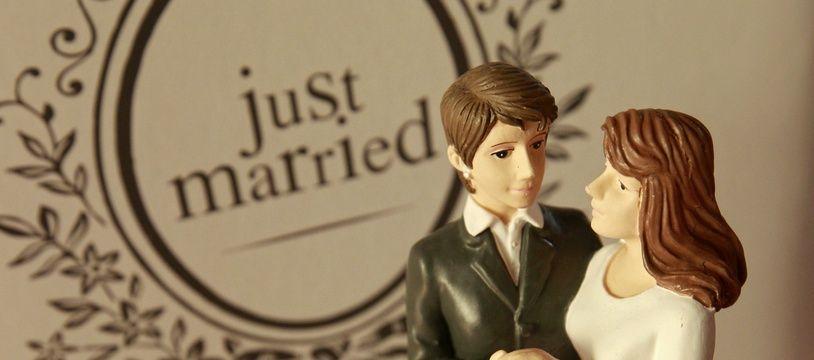 Illustration du mariage.