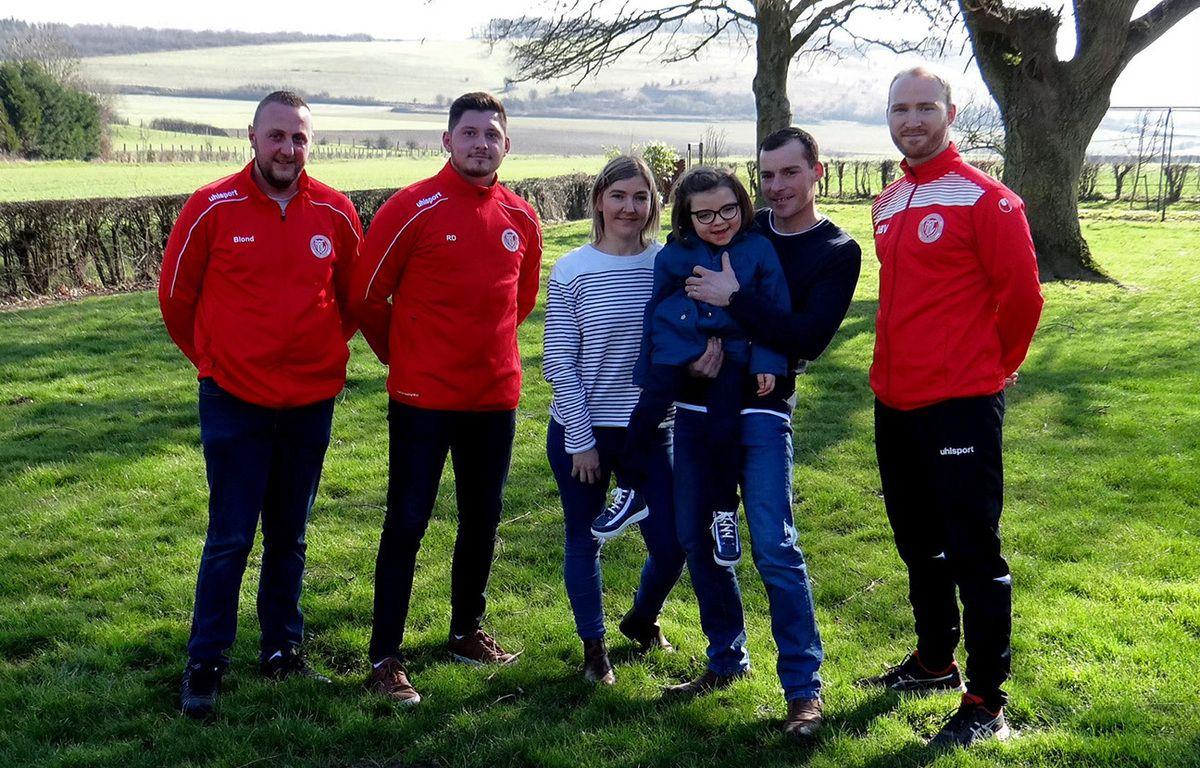 Pas-de-Calais : Un village et son club de foot se mobilisent pour une enfant polyhandicapée