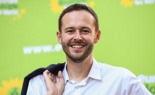 David Belliard, tête de liste Europe Ecologie Les Verts (EELV) pour les municipales à Paris en 2021. (Photo by BERTRAND GUAY / AFP)