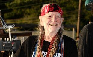 Le musicien américain Willie Nelsn